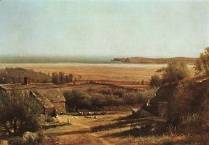 Thomas Worthington Whittredge - House by the Sea 1872