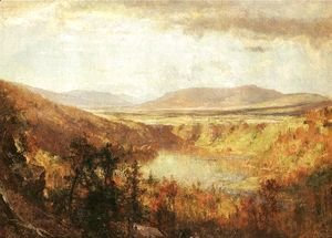 Thomas Worthington Whittredge - View of Kauterskill Falls, 1868