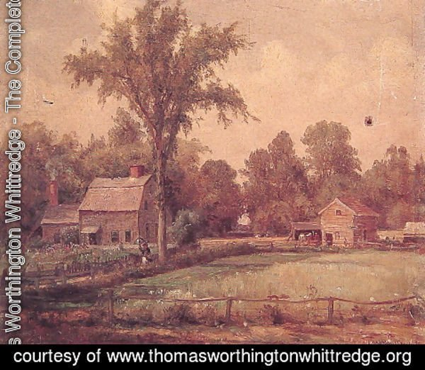Thomas Worthington Whittredge - June Paradise Valley