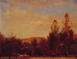 Thomas Worthington Whittredge - Gathering the Buckwheat