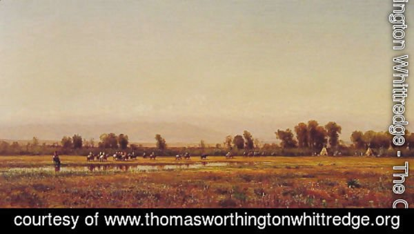 Thomas Worthington Whittredge - Indian Reservation