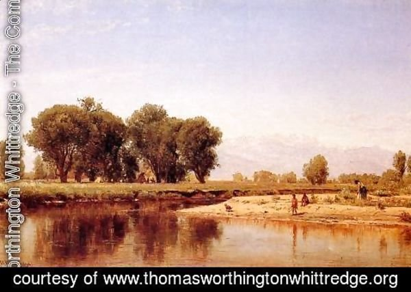 Thomas Worthington Whittredge - Indian Emcampment on the Platte River