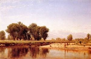 Indian Emcampment on the Platte River