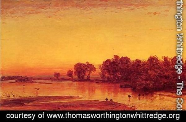 Thomas Worthington Whittredge - The Platte River