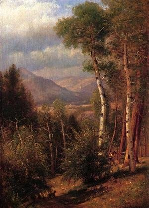 Thomas Worthington Whittredge - Hunter in the Woods of Ashokan
