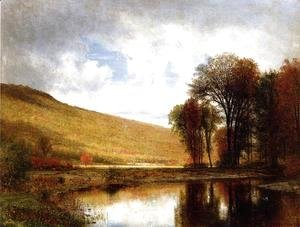 Thomas Worthington Whittredge - Autumn on the Deleware