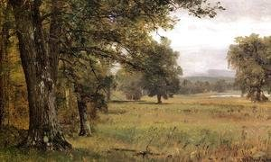 Thomas Worthington Whittredge - Landscape in the Catskills