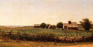 Thomas Worthington Whittredge - Farm by the Shore