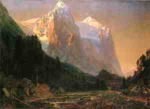 Thomas Worthington Whittredge - Sunrise on the Wetterhorn