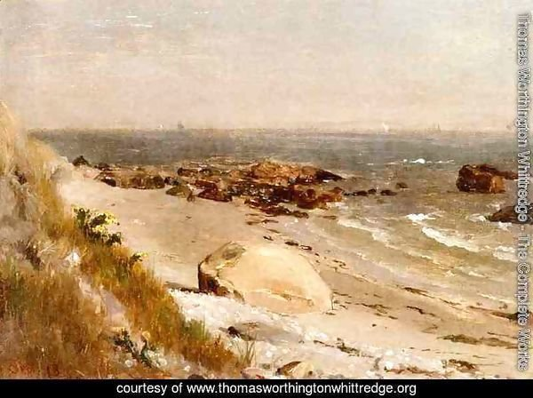 Beach Scene, Narragansett Bay