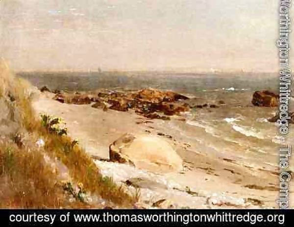Thomas Worthington Whittredge - Beach Scene, Narragansett Bay
