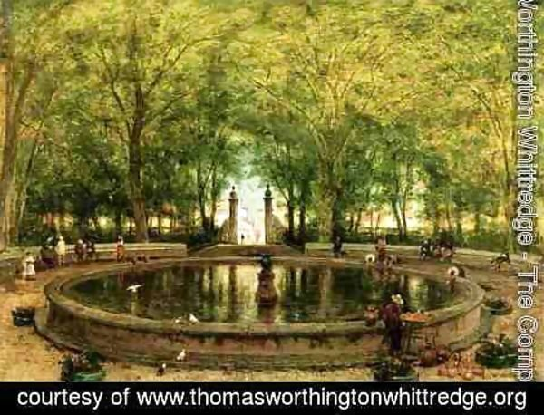 Thomas Worthington Whittredge - A Mexican Fountain, City of Orizaba