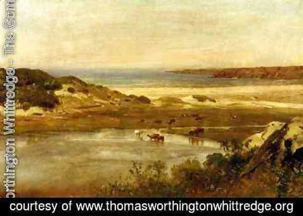 Thomas Worthington Whittredge - By the Sea, Newport, Rhode Island