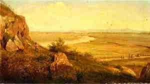 Thomas Worthington Whittredge - A Hunter in a Landscape
