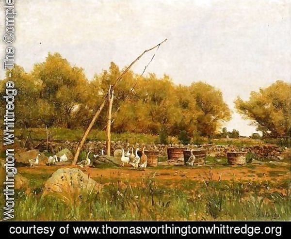 Thomas Worthington Whittredge - No Water in the Well