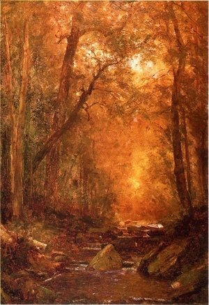 Thomas Worthington Whittredge - A Catskill Brook I