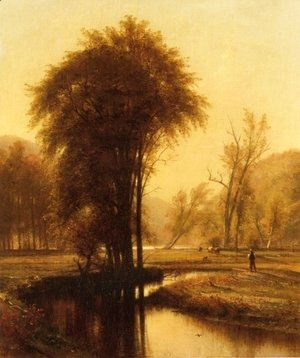 Thomas Worthington Whittredge - Indian Summer