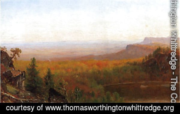 Thomas Worthington Whittredge - Shawangunk Vista