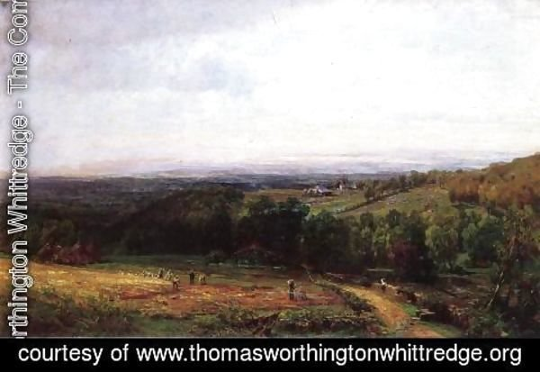 Thomas Worthington Whittredge - Roman Campagna