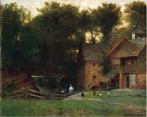 Thomas Worthington Whittredge - The Mill, Simsbury, Conn.