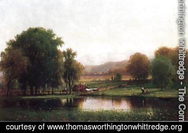 Thomas Worthington Whittredge - The Morning Stage