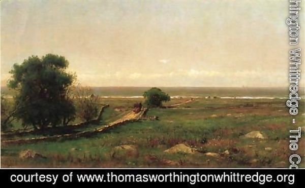 Thomas Worthington Whittredge - The Old Road to the Sea