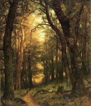 Thomas Worthington Whittredge - The Old Hunting Ground