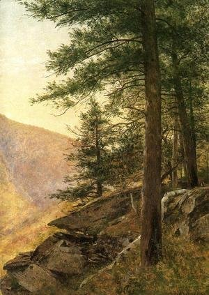 Thomas Worthington Whittredge - Hemlocks in the Catskills