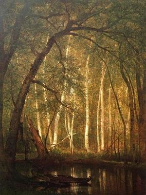 Thomas Worthington Whittredge - The Old Hunting Ground I
