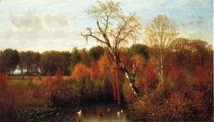 Thomas Worthington Whittredge - Duck Pond