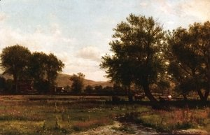 Thomas Worthington Whittredge - Summer Idle