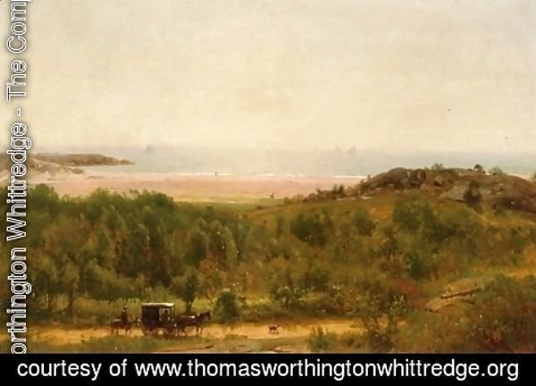 Thomas Worthington Whittredge - Newport Beach, Rhode Island