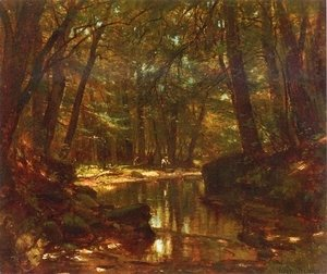 Thomas Worthington Whittredge - Trout Stream