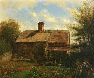 Thomas Worthington Whittredge - Old House, Westport