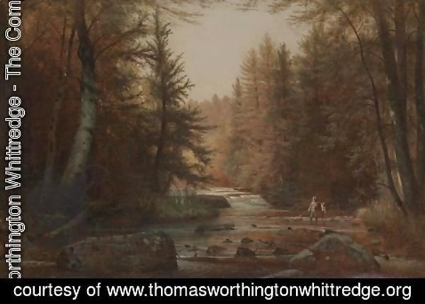 Thomas Worthington Whittredge - Wooded Landscape