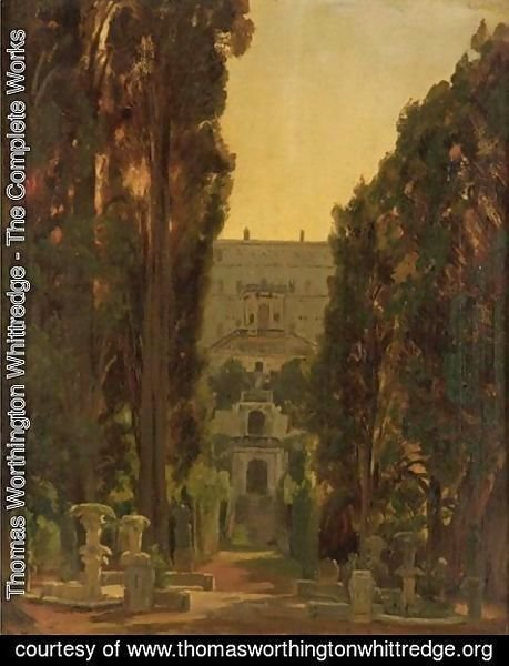 Thomas Worthington Whittredge - Villa Desta, Tivoli