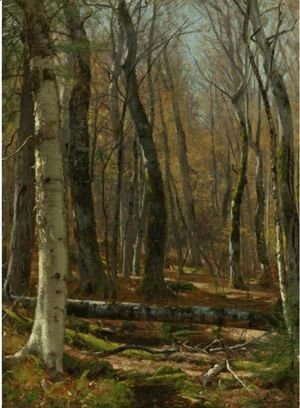 Thomas Worthington Whittredge - Wooded Interior