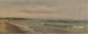 Thomas Worthington Whittredge - The Beach At Cape Ann