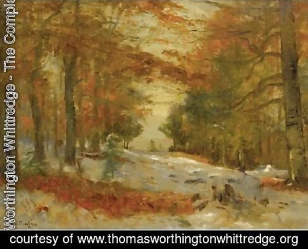 Thomas Worthington Whittredge - First Snow