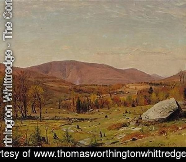 Thomas Worthington Whittredge - Catskills 1866