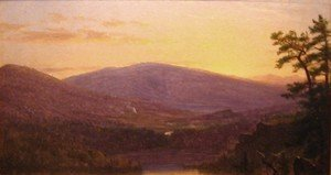Thomas Worthington Whittredge - Catskill Mountains Twilight